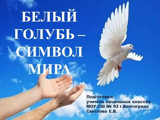 презентация на тему голуби