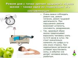 Здоровый образ жизни, слайд 4